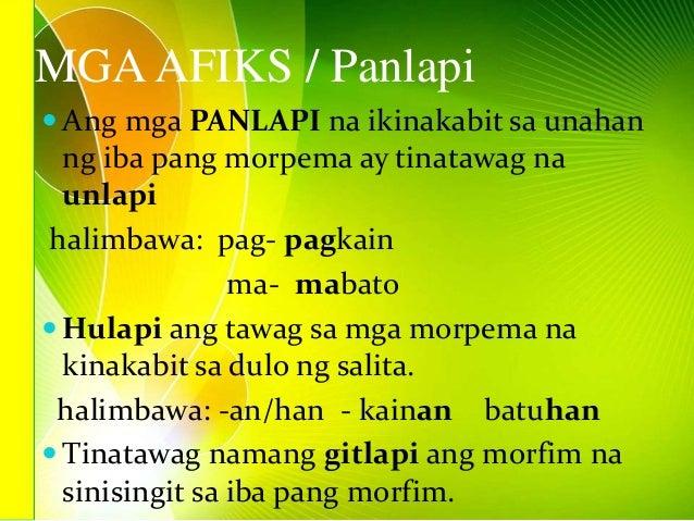 ano sa unlapi ang salitang dugo Tagalog[baguhin] pangngalan[baguhin] unlapi unlapi panlapi na ikinakabit sa  unahan ng isang salitang ugat upang makabuo ng isang salita halimbawa:.