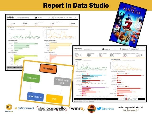 Palacongressi di Rimini 1 e 2 Dicembre 2017@merlinox Report in Data Studio