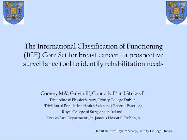 The International Classification of Functioning (ICF) Core Set for breast cancer – a prospective surveillance tool to iden...