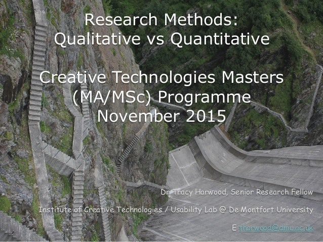 qual and quant research Qual + quant home about  matrix research has been the leading edge in mobile research and was one of the first to implement ground breaking approaches in.