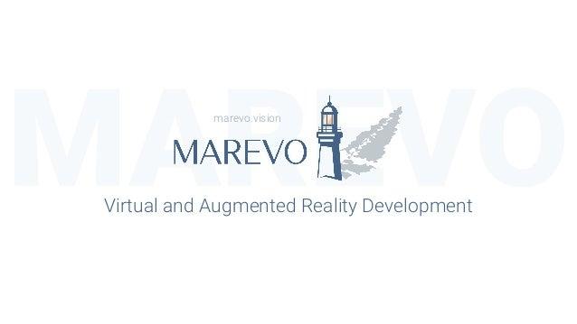 MAREVOVirtual and Augmented Reality Development marevo.vision
