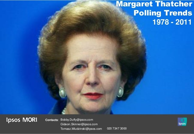 Margaret Thatcher                                                Polling Trends                                           ...
