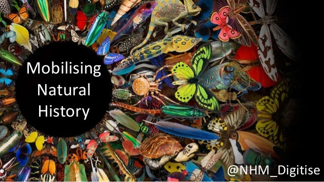 Mobilising Natural History @NHM_Digitise