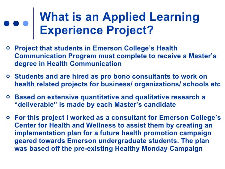 planning a health promotion campaign Health communication professionals who spearhead these projects play a  powerful role in curbing harmful behaviors and promoting good.