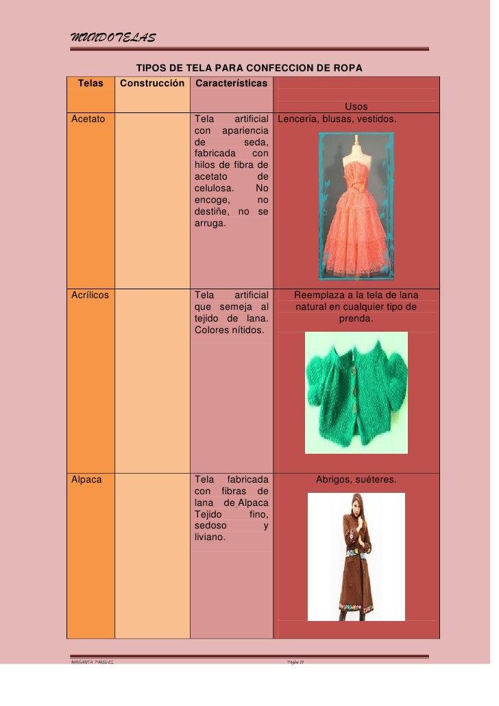Tipos de tela para ropa interior femenina vestido de novia for Tipos de mobiliario urbano pdf