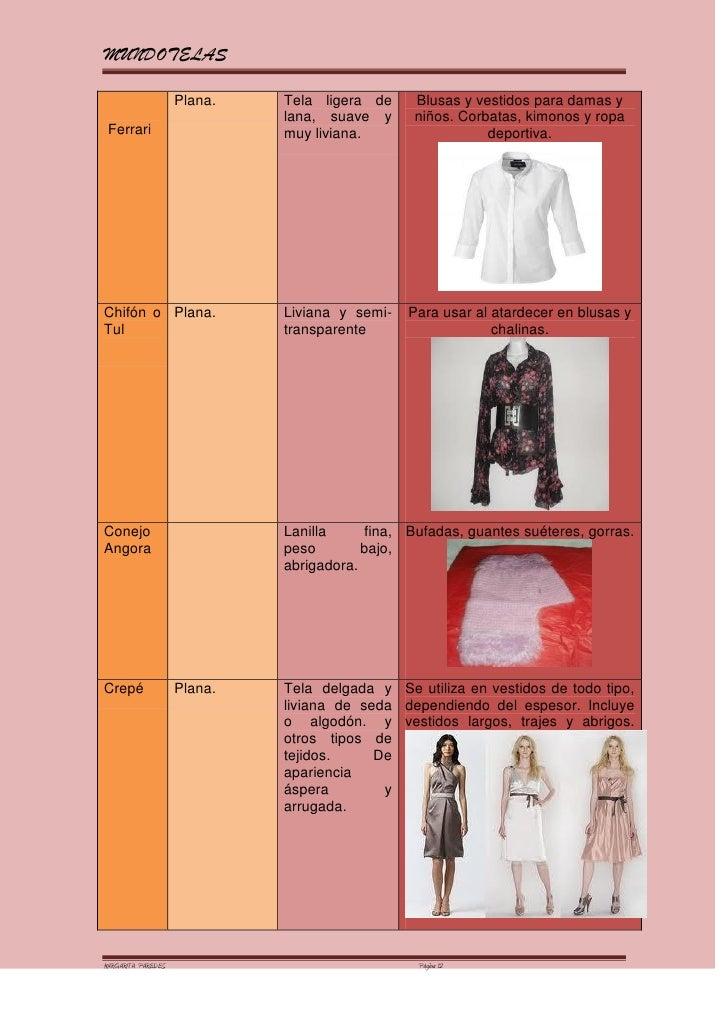 Nombres de telas para vestidos casuales