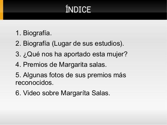 Margarita Salas Slide 2