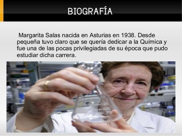 Margarita Salas Slide 3