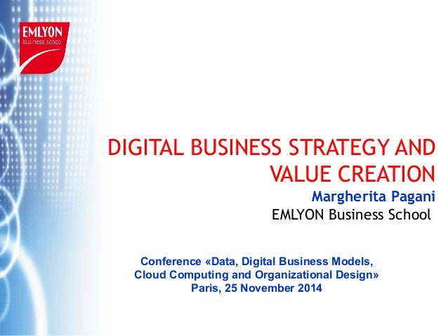 © M. Pagani 2014 EMLYON Business School DIGITAL BUSINESS STRATEGY AND VALUE CREATION Margherita Pagani EMLYON Business Sch...