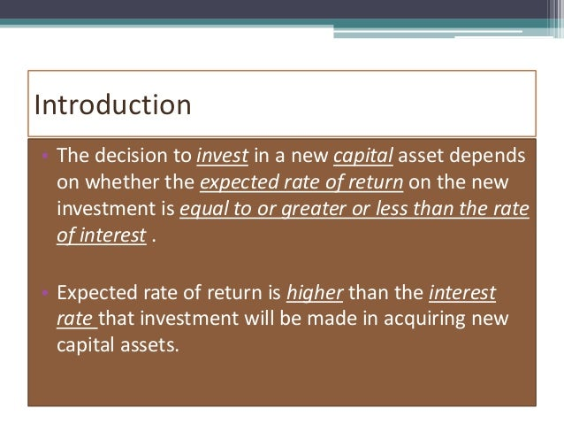 Marginal efficiency of capital marginal efficiency of capital presented by suneha pandey 2 ccuart Images