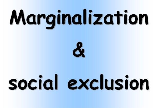 marginalization of women definition
