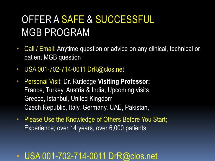 Presentation Marginal Ulcer Gastric Bypass