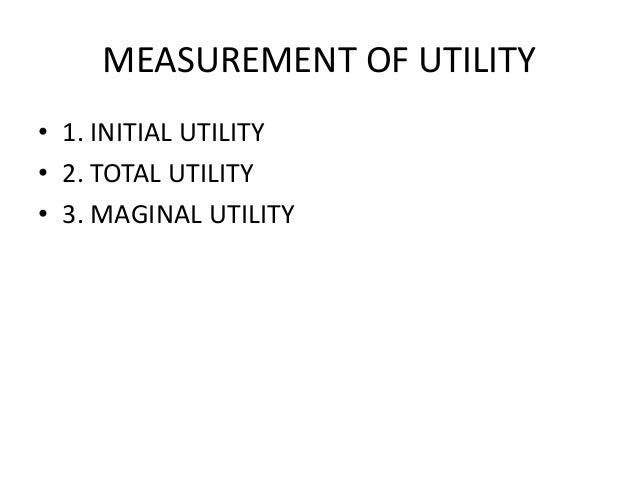 law of diminishing Marginal utility Slide 3