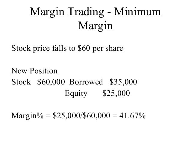 The Profit Margin of FOREX Trading