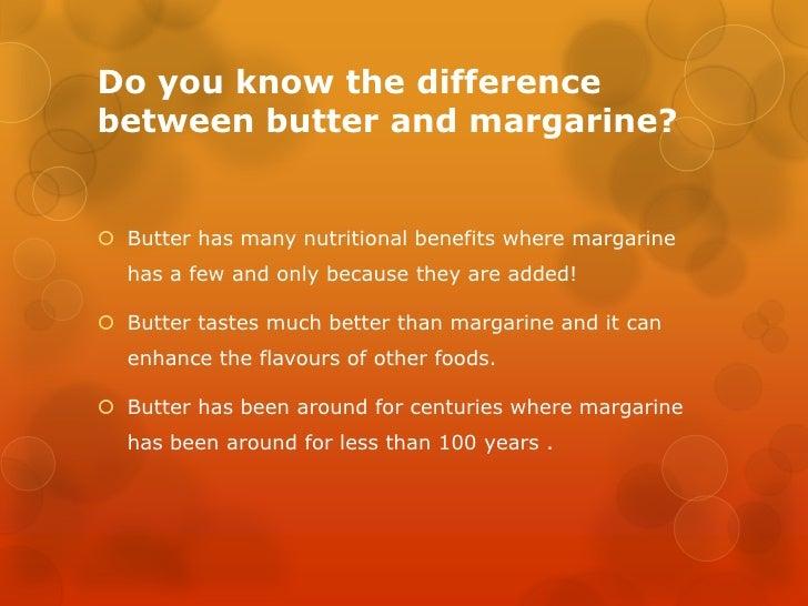 Marg vs butter