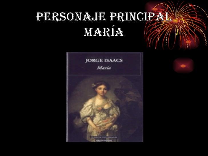 PERSONAJE PRINCIPAL MARÍA