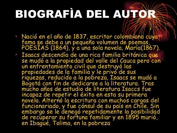 BIOGRAFÌA DEL AUTOR <ul><li>Nació en el año de 1837, escritor colombiano cuya fama se debe a un pequeño volumen de poemas,...