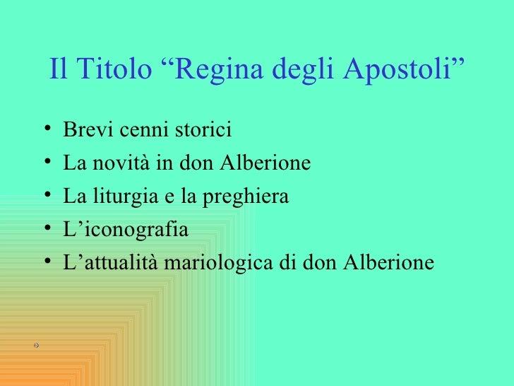 """Maria Regina degli Apostoli e """"Via Humanitatis"""" Slide 2"""