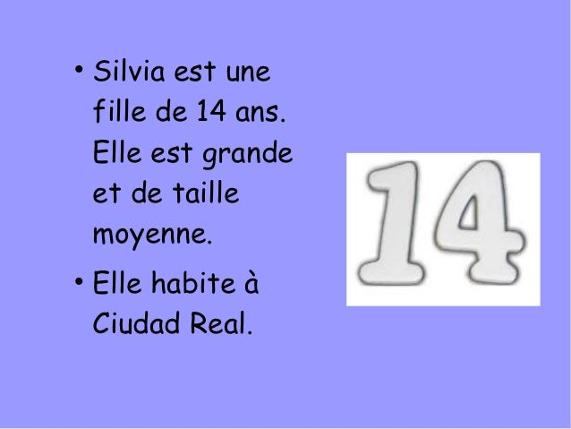 Maria  présente Silvia Slide 2