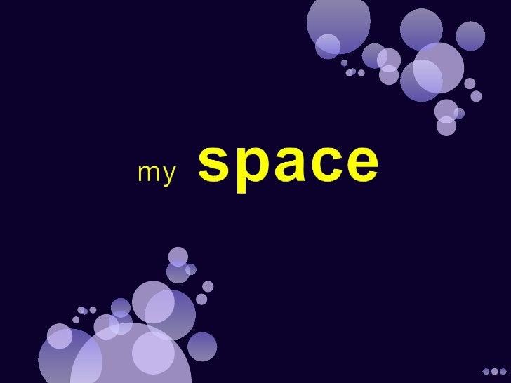 myspace<br />