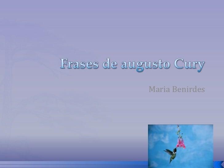 Maria Benirdes