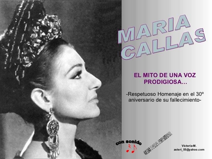 EL MITO DE UNA VOZ  PRODIGIOSA… -Respetuoso Homenaje en el 30º aniversario de su fallecimiento- Victoria-M. [email_address...