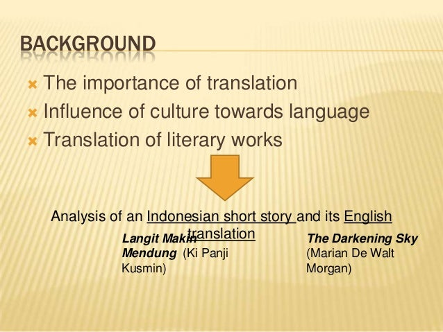 Strategies in Translating Indonesian CultureBound Elements into Engl…