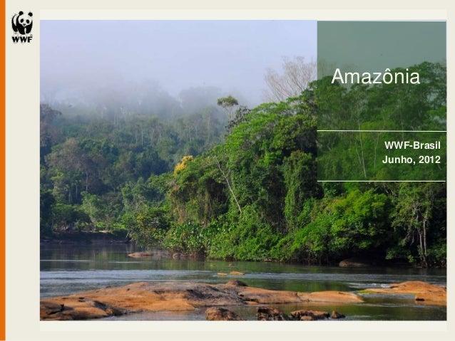 Amazônia    WWF-Brasil    Junho, 2012