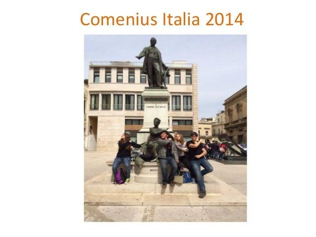 Comenius Italia 2014