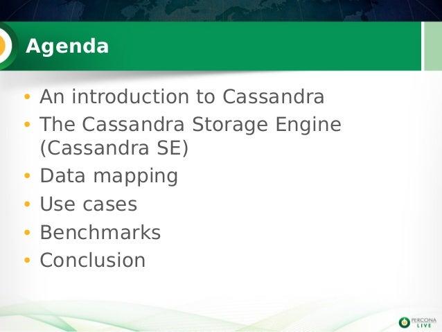 Maria db cassandra interoperability cassandra storage engine in mariadb Slide 3