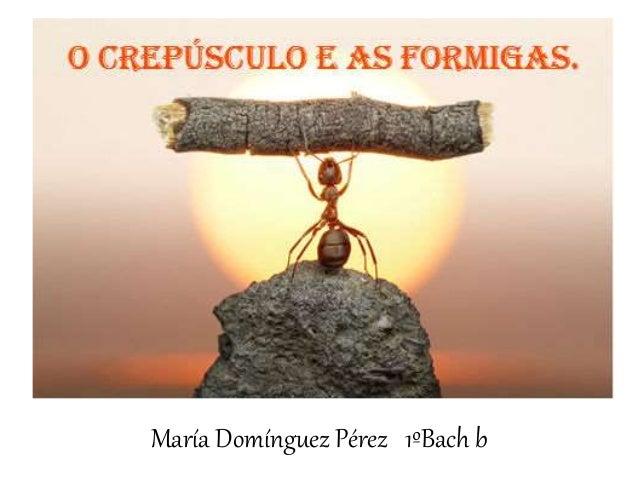 María Domínguez Pérez 1ºBach b
