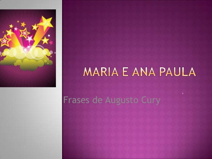 0Frases de Augusto Cury