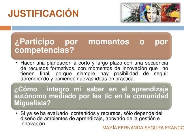 JUSTIFICACIÓN  ¿Participo por momentos o por  competencias?  • Hacer una planeación a corto y largo plazo con una secuenci...