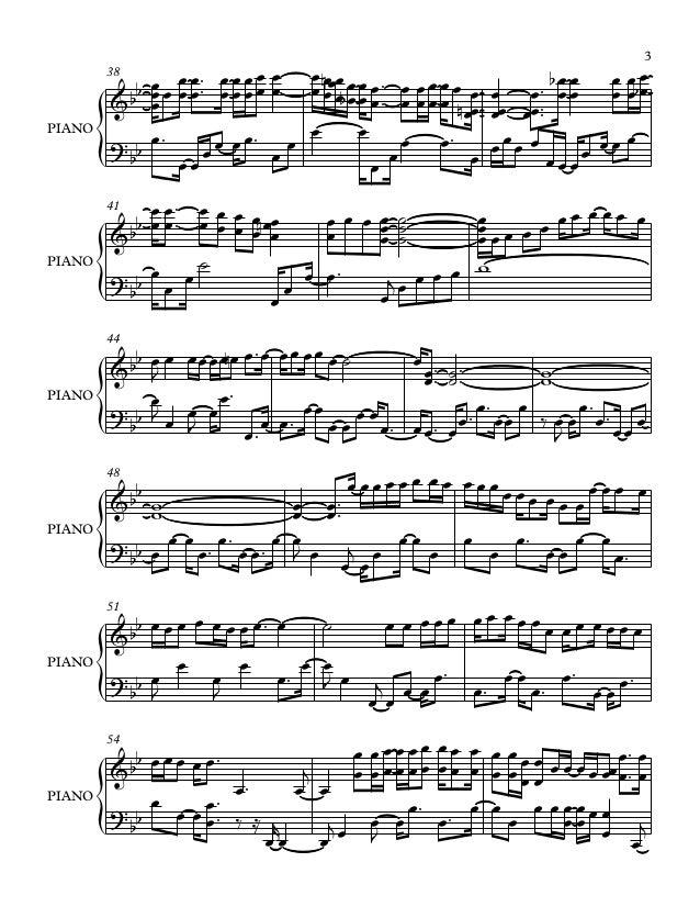 Mariage d amour sheet music pdf