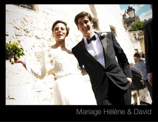 Mariage Hélène & David