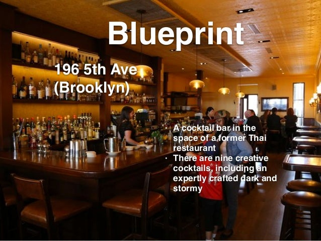 New yorks best dark and stormys by maria haymandou blueprint a cocktail bar malvernweather Image collections