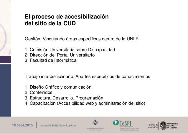 La Accesibilidad Web es posible: Maria innaro Slide 2