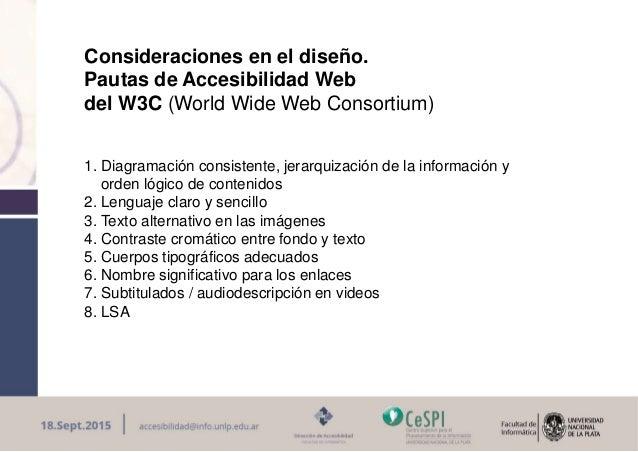La Accesibilidad Web es posible: Maria innaro Slide 3