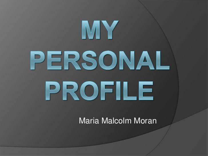Maria Malcolm Moran
