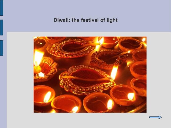 Diwali: the festival of light