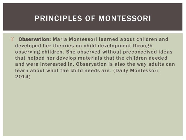 What can a Montessori educator do to stimulate movement in favor of development?
