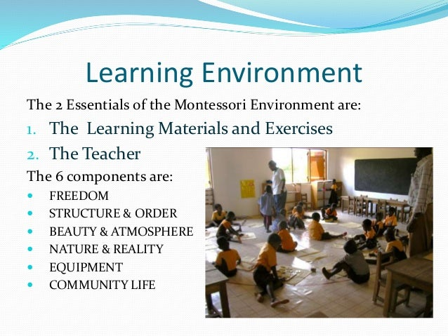 montessori the power of attention Why do we think children have short attention spans and are always into mischief   attention to this inner power, rather than to a curriculum of facts and skills,.