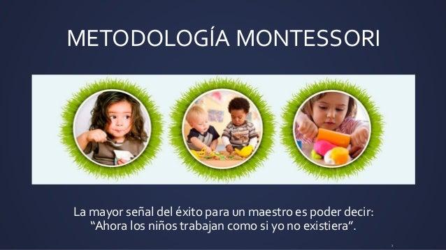 MARÍA MONTESSORI Slide 2