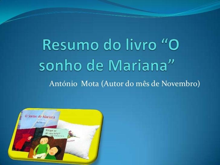 António Mota (Autor do mês de Novembro)