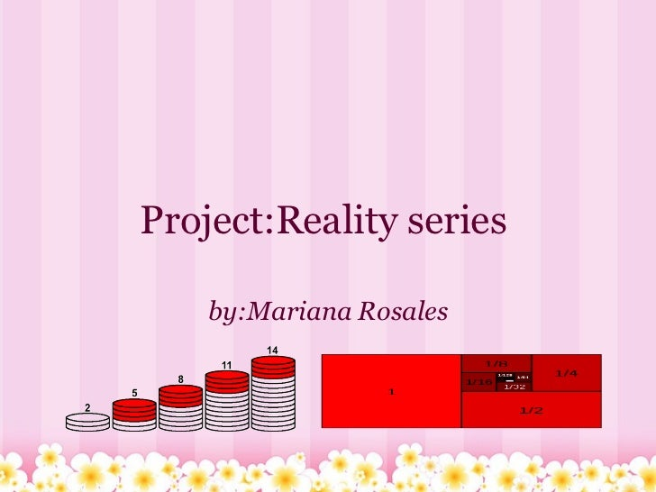 Project:Reality series  by:Mariana Rosales