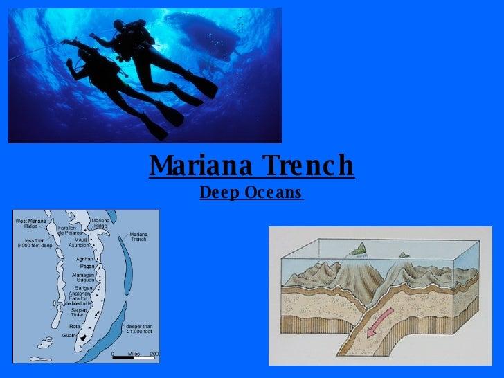 Mariana Trench Deep Oceans