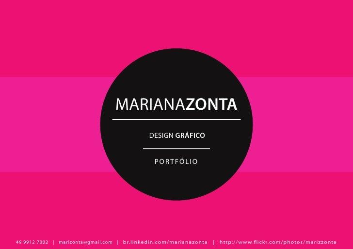 MARIANAZONTA                                             DESIGN GRÁFICO                                               POR ...