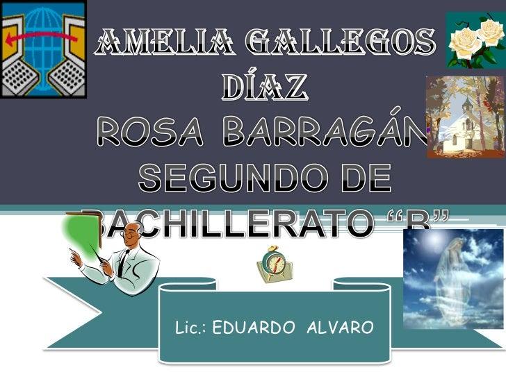 Lic.: EDUARDO ALVARO