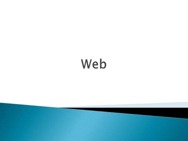 Web<br />