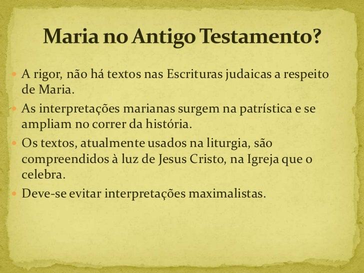 Maria no Antigo Testamento (2012)